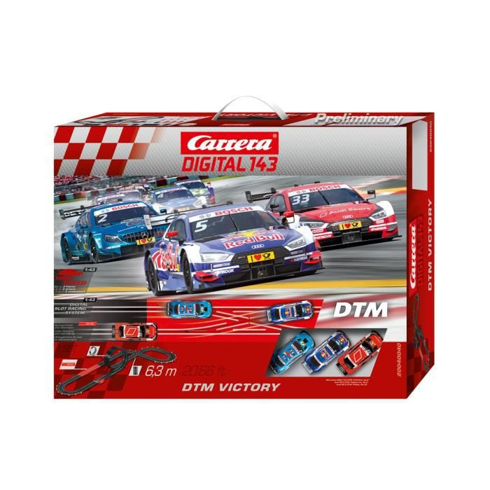 Carrera DIGITAL 143 40040 Coffret DTM Victory