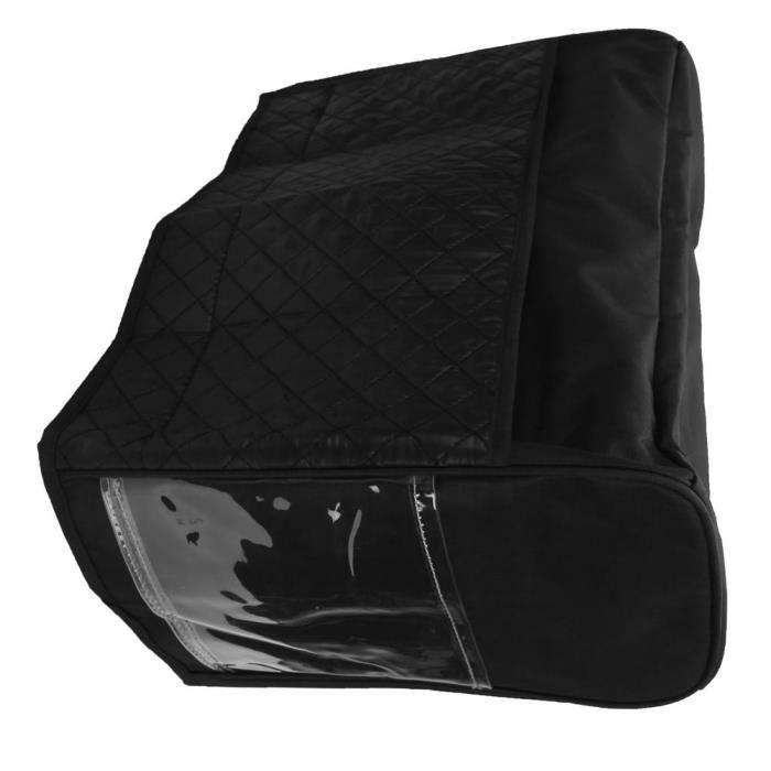 Garosa Couverture de machine à coudre Housse de Machine à Coudre Sac de Stockage Protecteur Anti‑poussière Fournitures