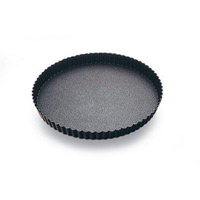 Moule métal - Tourtière ronde fond fixe 28 cm