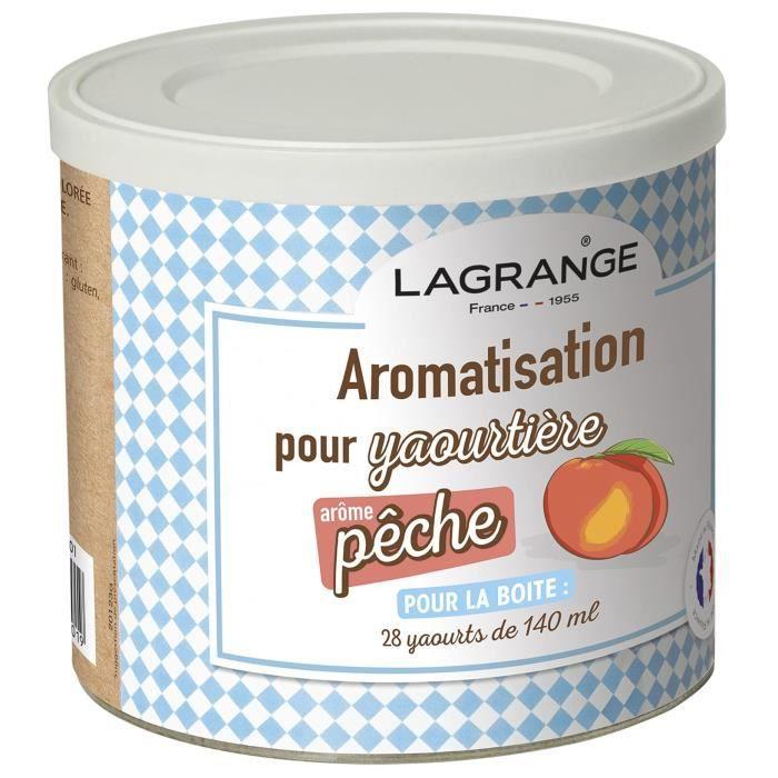 LAGRANGE Aromatisation pêche pour yaourts