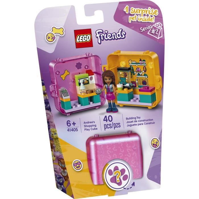 LEGO® Friends 41405 - Le cube de jeu shopping d'Andréa
