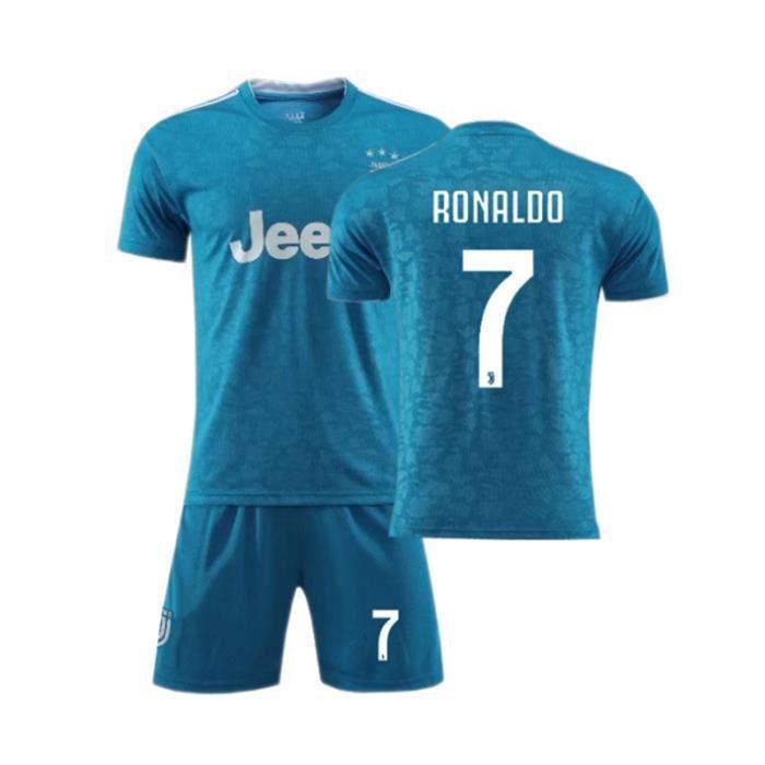 Juventus No. 7 Cristiano Ronaldo Maillot et Shorts de football Enfant