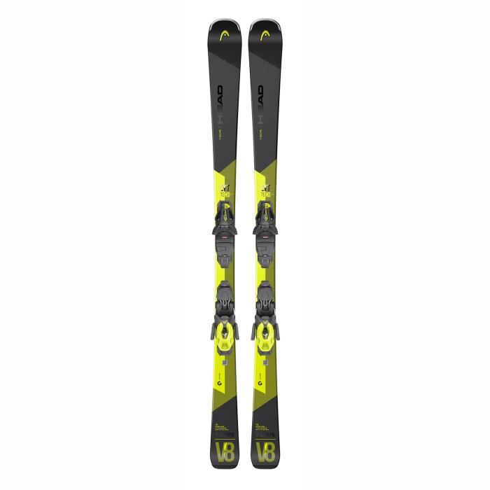 Pack De Ski Head V-shape V8 Sw Lyt-pr + Fixations Pr 11 Gw Homme