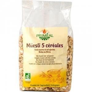 PRIMEAL - Muesli 5 Cereales Bio 500 g