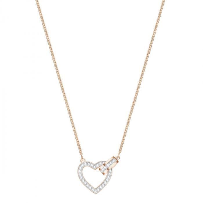 Collier Coeur femme Swarovski Lovely - Rosé - 5368540 Rose