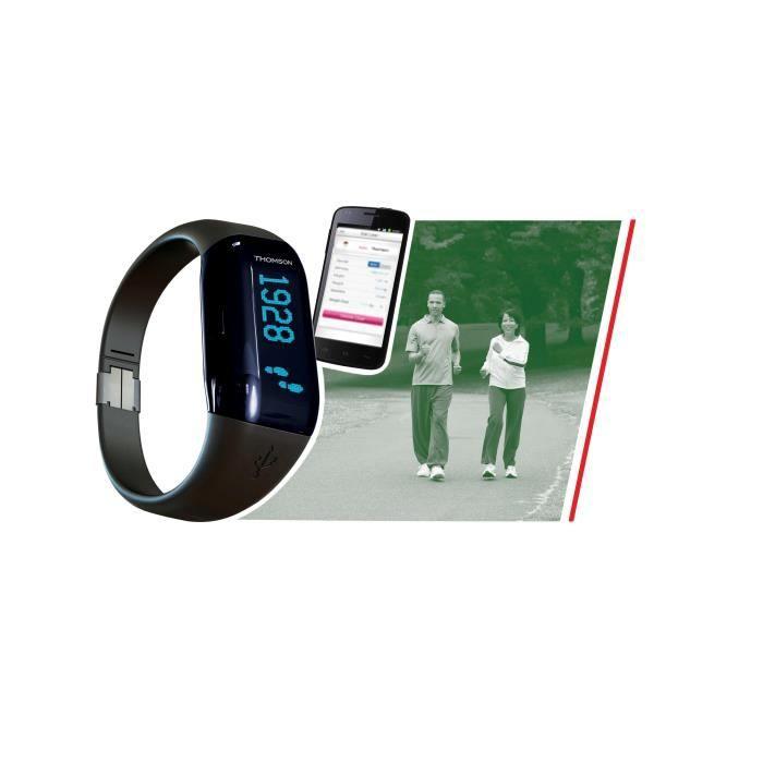 Bracelet connecté Traqueur d'activités - THOMSON Healthcare TBLS 405