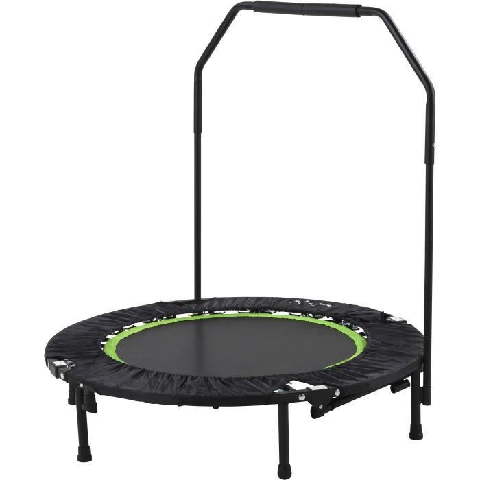 TUNTURI Trampoline Fitness 104 cm de diamètre / Fitness Reboundisseur - avec Poignée Ajustable