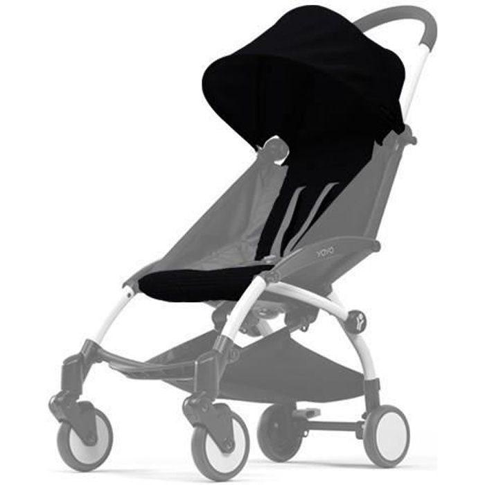 BABYZEN Pack couleur 6m+ pour Yoyo+ sans châssis - Noir