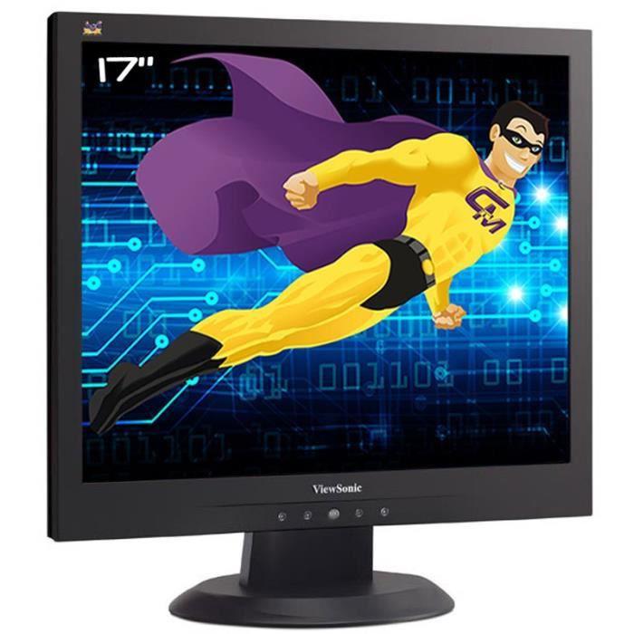 Ecran Plat PC 17- ViewSonic VA703b VS11366 LCD TFT TN VGA Audio 5:4 1280x1024