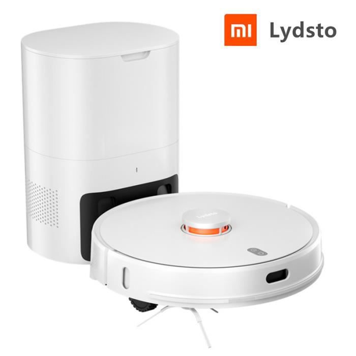 Xiaomi Lydsto R1 Robot aspirateur avec Station intelligente Innovation & Intelligence Robot Auto-aspirateur Blanc