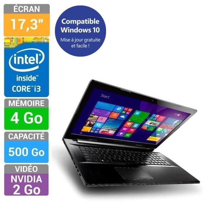 lenovo pc portable g70 70 core i3 17 3 prix pas cher. Black Bedroom Furniture Sets. Home Design Ideas