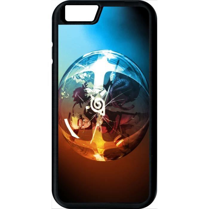 coque apple iphone 6s naruto et sasuke