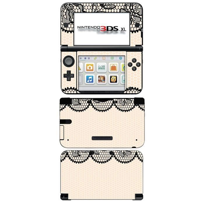 skin stickers pour nintendo 3ds xl sticker old lace. Black Bedroom Furniture Sets. Home Design Ideas
