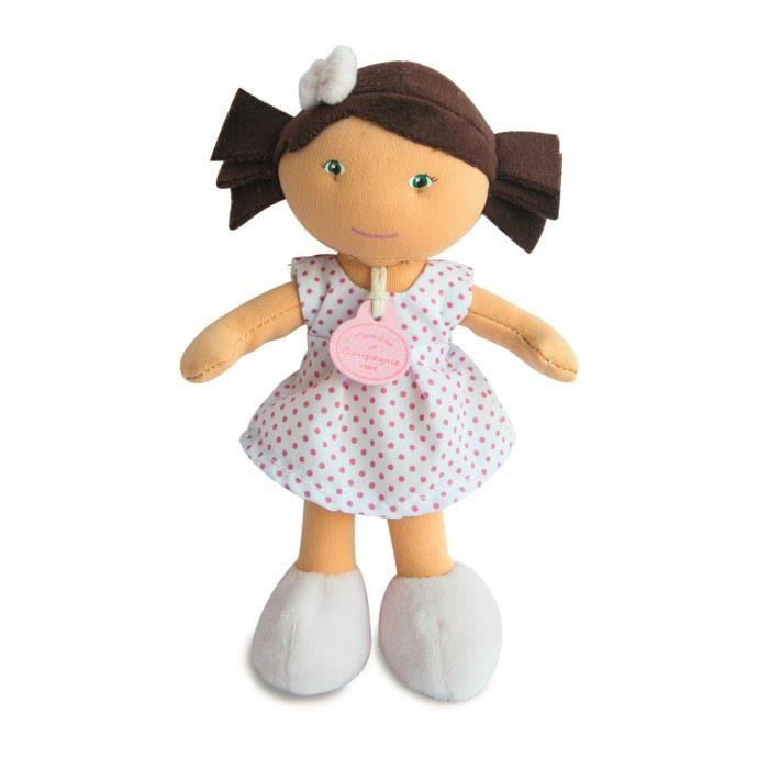 POUPÉE Les Petite Demoiselles : Poupée métisse : Robe bla
