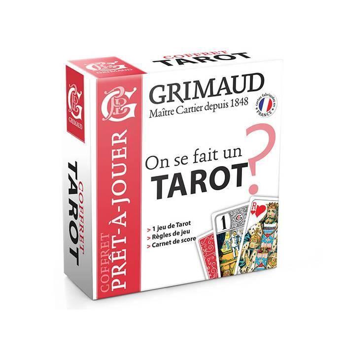 CARTES DE JEU On se fait un Tarot ? - coffret Grimaud Origine -