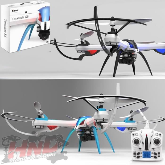 tarantula x6 drone radiocommand avec cam ra hd 720p 2. Black Bedroom Furniture Sets. Home Design Ideas