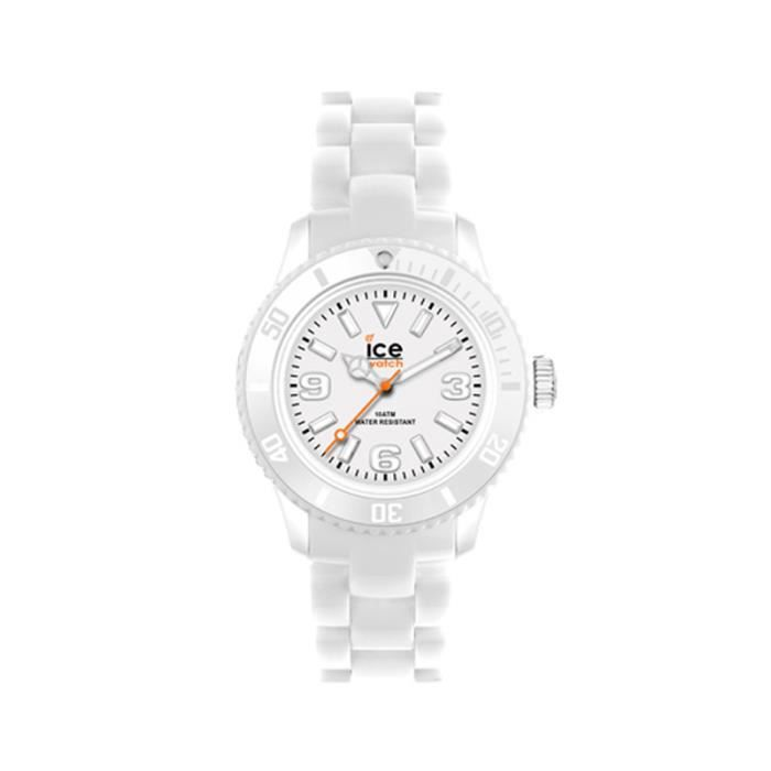 montre ice watch femme blanche sd we s blanc classique achat vente montre cdiscount. Black Bedroom Furniture Sets. Home Design Ideas