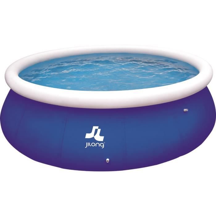Piscine autoportante 450 x 122 cm bleue achat vente for Achat piscine autoportante