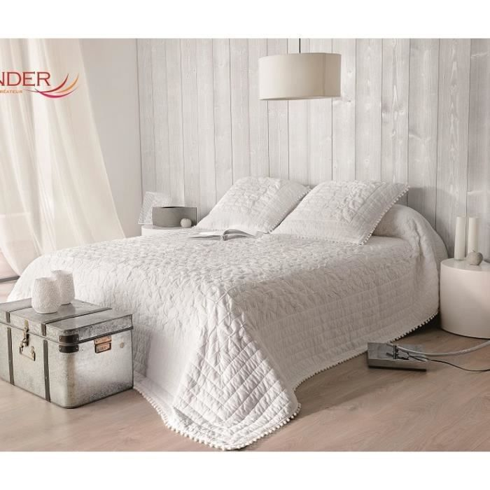 emmanuelle jet de lit 250x260 2 taies achat vente jet e de lit boutis cdiscount. Black Bedroom Furniture Sets. Home Design Ideas