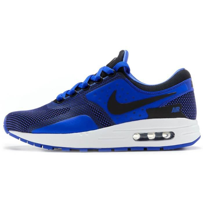 new appearance lace up in casual shoes Nike Air Max Zero Essential GS Chaussures de sport en Paramount & Binary  Blue 881224 004 [UK 6 EU 40]