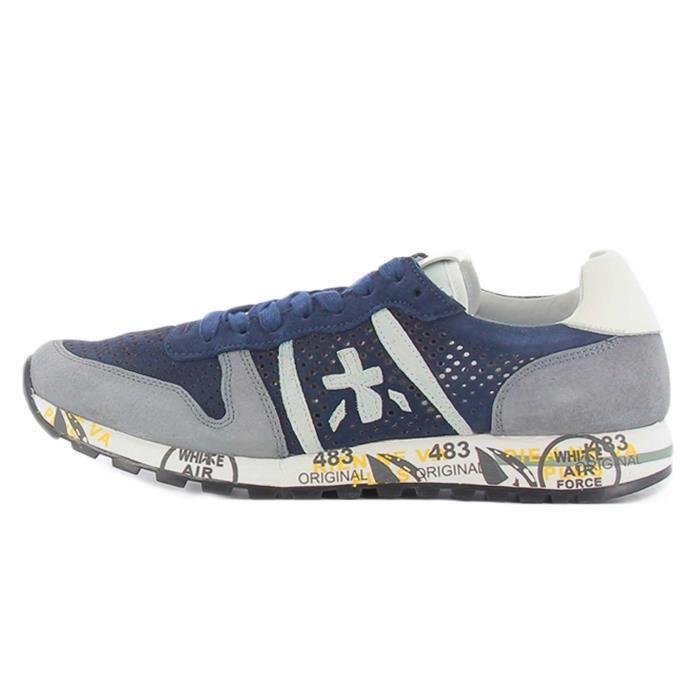 Premiata Chaussures Homme bleu Bleu - Achat / Vente basket - Cdiscount