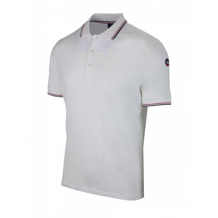 94f8fa7e17 Fusalp - Limodore Ii - Polos Manches Courtes Homme Blanc Blanc ...