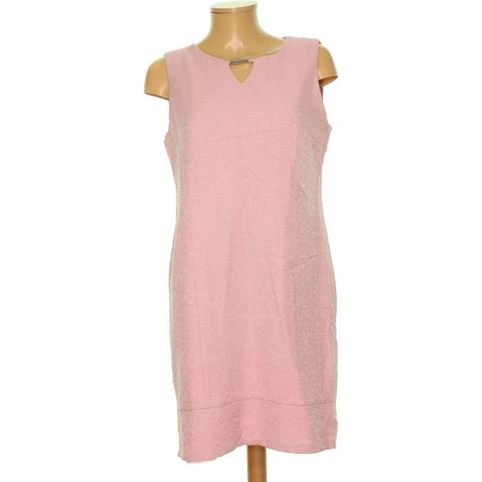 Robe Christine Laure Taille 42 2025633 Rose Achat Vente Robe Cdiscount