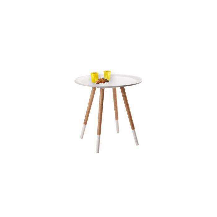 Table basse art blanche achat vente table basse table basse art blanche - Table basse blanche cdiscount ...