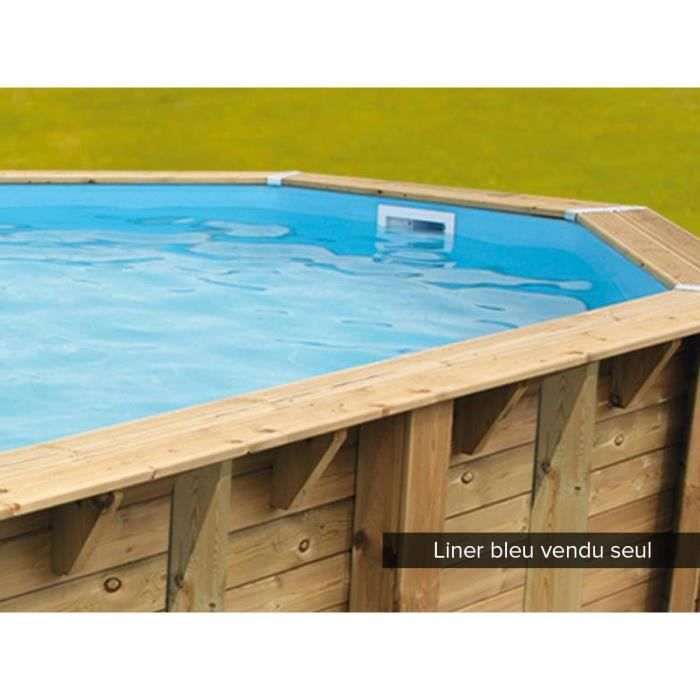 Piscine bois 2 50 for Cash piscine kit