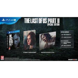 JEU PS4 The Last Of Us Part II Edition Spéciale Jeu PS4