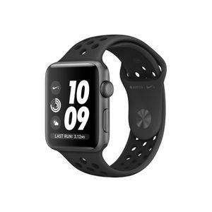 MONTRE CONNECTÉE Apple Watch Nike+ Series 3 (GPS) 38 mm espace gris