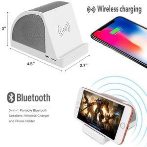 ENCEINTE NOMADE BT-A1Portable de charge sans fil USB Port de charg