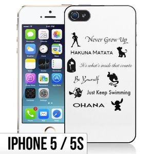 coque iphone 5 avec citation