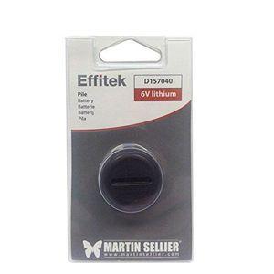 PILES Pile lithium 6V pour collier Effitek 1 One