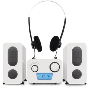 CHAINE HI-FI Chaîne hi-fi stéréo lecteur laser CD radio USB MP3