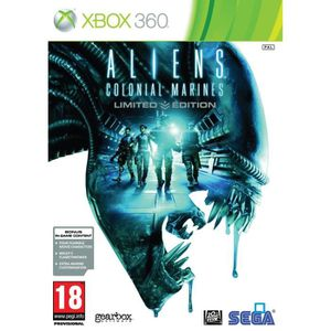 JEU XBOX 360 ALIENS : COLONIAL MARINES - EDITION LIMITEE