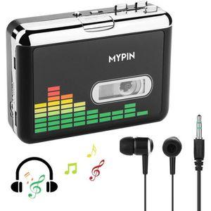 BALADEUR CD - CASSETTE MYPIN Lecteur de Cassette Autonome Audio numérique