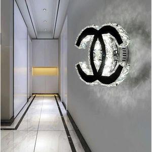 APPLIQUE  Moderne cristal appliques murales 18 W LED Wall Li
