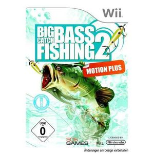 JEUX WII Big Catch Bass Fishing 2