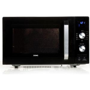 MICRO-ONDES DOMO - Four à micro-ondes 23L Noir - 800W - Décong