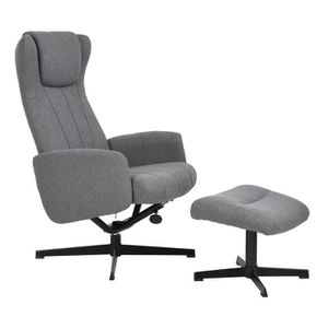 FAUTEUIL FurnitureR Fauteuil relax Inclinable avec Repose-p