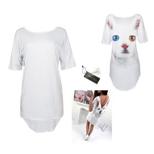 T-SHIRT Dresstells mini robe femme sexy tee shirt longue d
