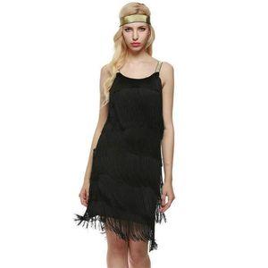 ROBE FUNMOON Robe Femmes De Bal Vintage Année 20 Gatsby