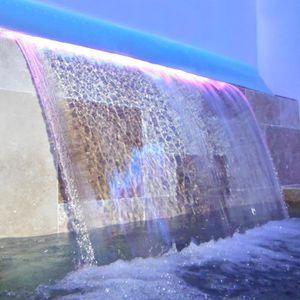 CASCADE - FONTAINE  Lame d'eau 306 x 85 mm avec led 4 w
