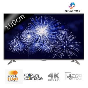 tv 4k uhd achat vente pas cher cdiscount. Black Bedroom Furniture Sets. Home Design Ideas