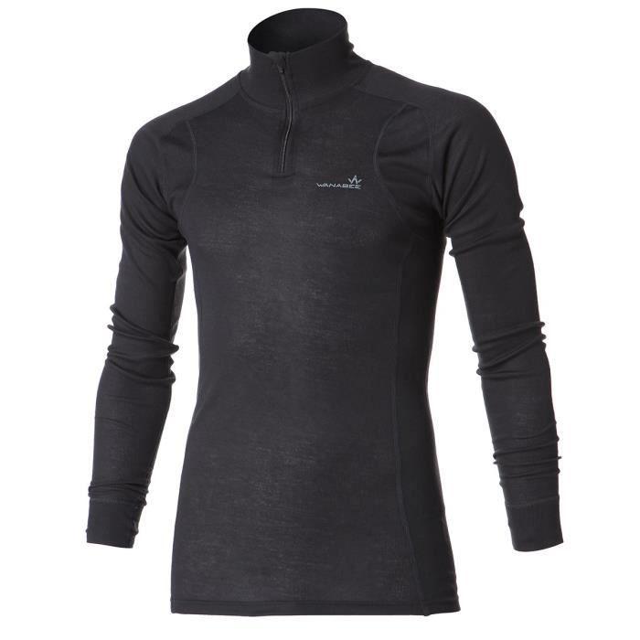 1ER PRIX Sous-vêtement de randonnée Ld Prima WarZip - Homme - Carbone