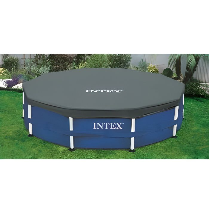 BÂCHE - COUVERTURE  Bâches de protection INTEX 3.05 m Grise