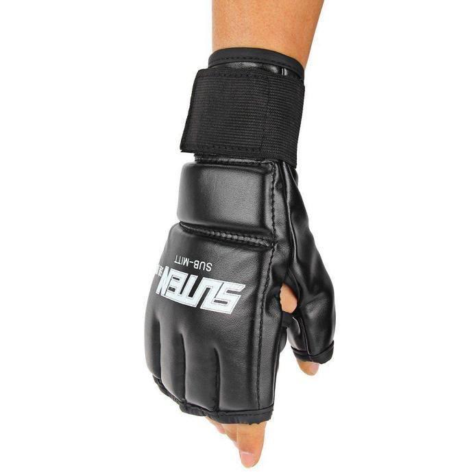 MMA Muay Thai Sac de poinçonnage de formation Mitaines Mitaines Sparring Gants de boxe Gym