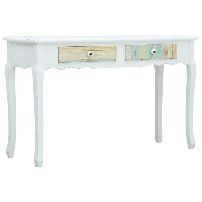 Rétro7127Super- Table Console Table d'Entrée décor-Bureau table de maquillage Console Scandinave Armoire console Table d'appoint Tab