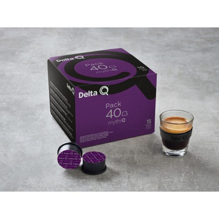 Pack 40 capsules café Delta Q Mythiq n°15